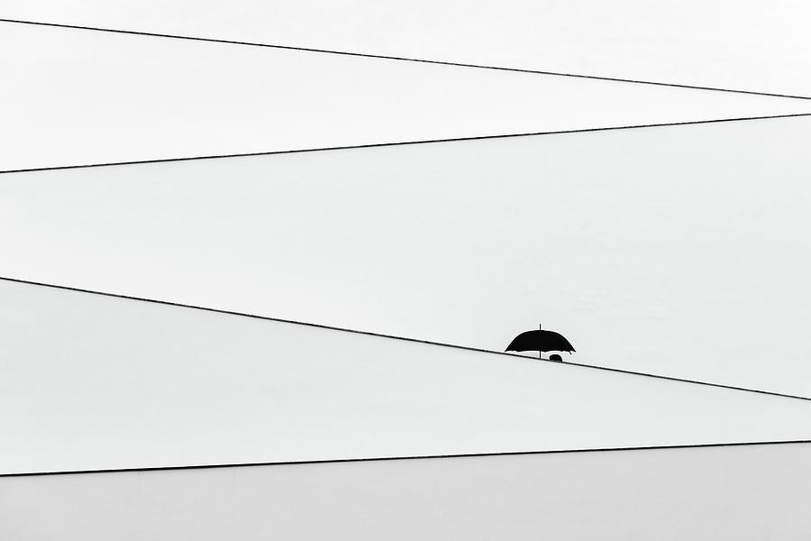 Slope Photograph - Over There, Its Raining by Fernando Correia Da