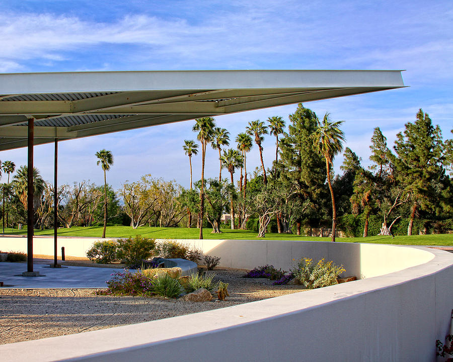 Palm Springs Photograph - OVERHANG Palm Springs Tram Station by William Dey