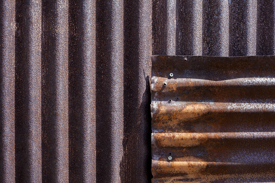 Iron Photograph - Overlap by Fran Riley