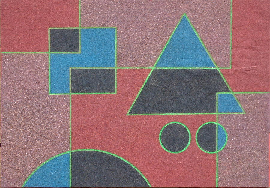 Overlay Relief - Overlay. 2003 by Peter-hugo Mcclure