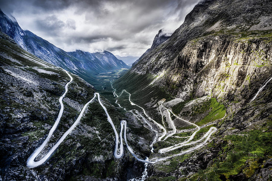 Overlook Of Trollstigen, Norway Photograph by Photo By Tse Hon Ning