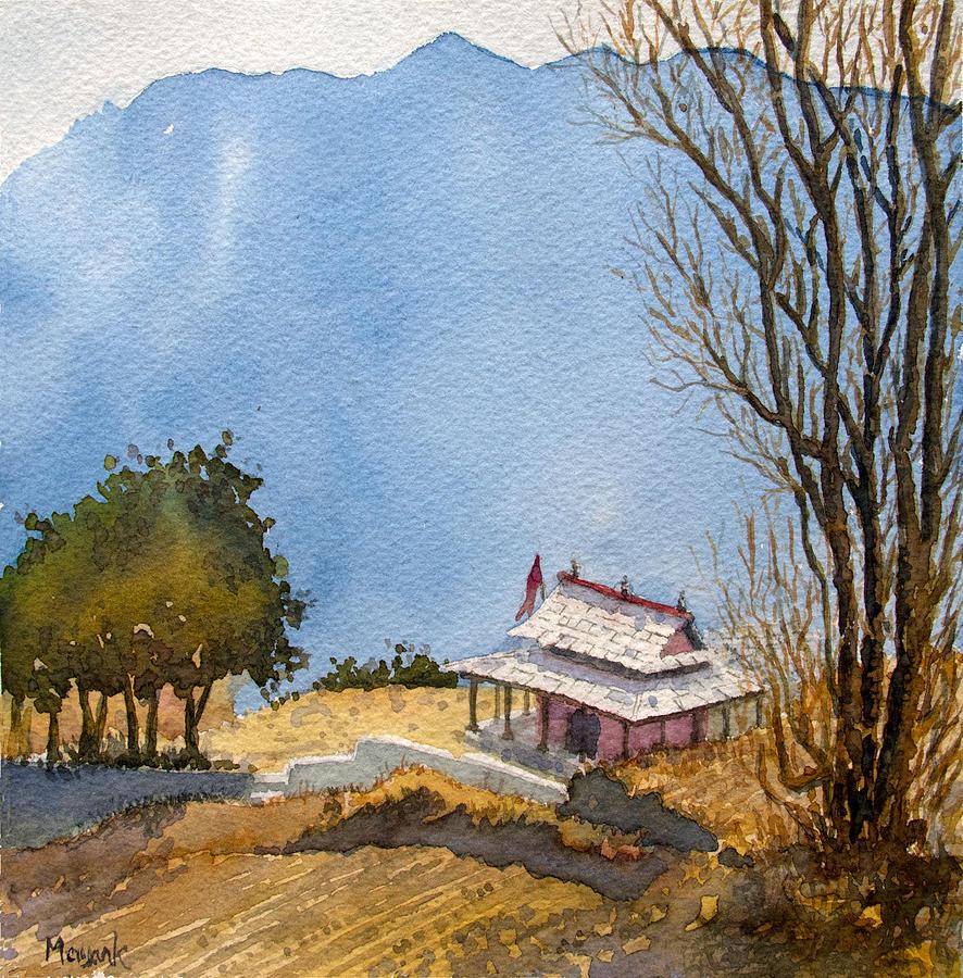 Overlooking Sanj by Mayank M M Reid