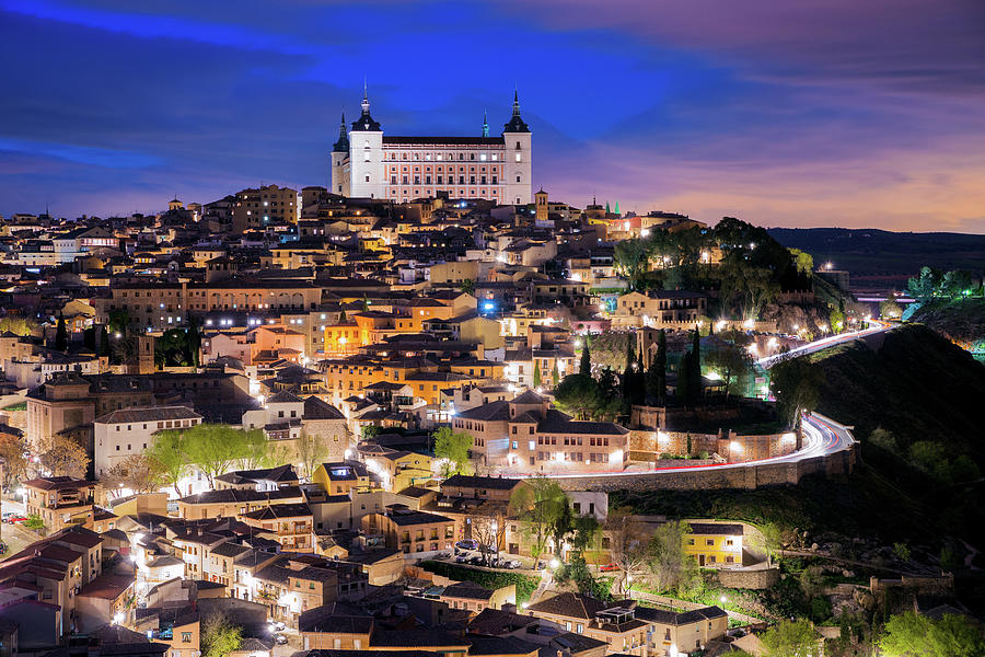 Overview Of The City Of Toledo In Spain Photograph by Daniel Viñé Garcia