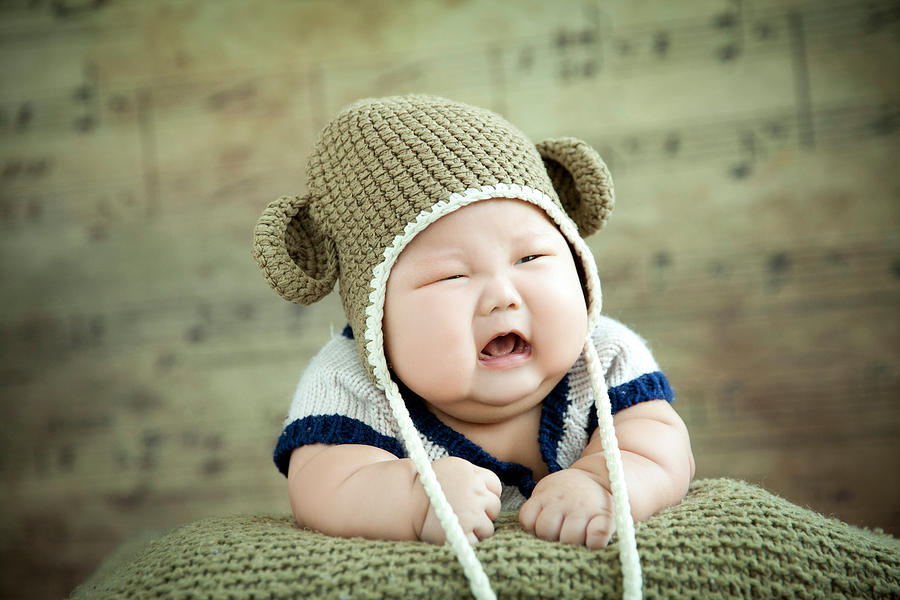 Overweight Baby Crying Photograph by Sihuo0860371