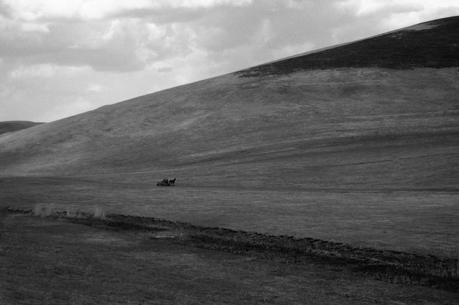 Landscape Photograph - Overwhelmingly The Hill by Silvia Floarea Toth