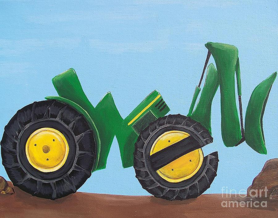 Owen Painting - Owen by Tracie Davis