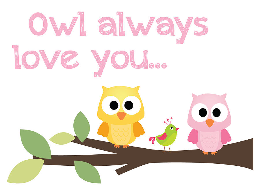 Owl Always Love You Digital Art by Jaime Friedman