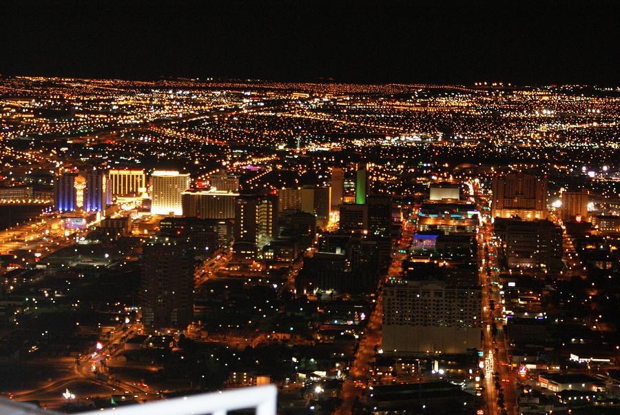 Las Vegas Photograph - Own The Night by Michael Davis