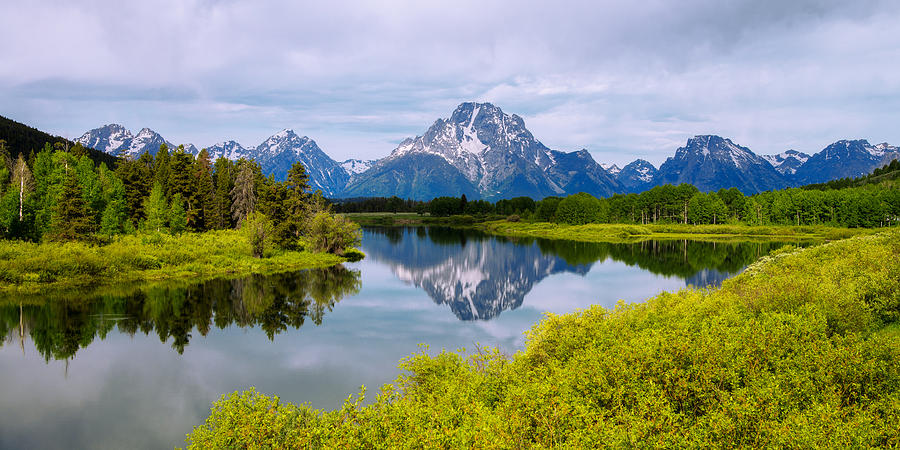 Oxbow Bend Photograph - Oxbow Summer by Chad Dutson