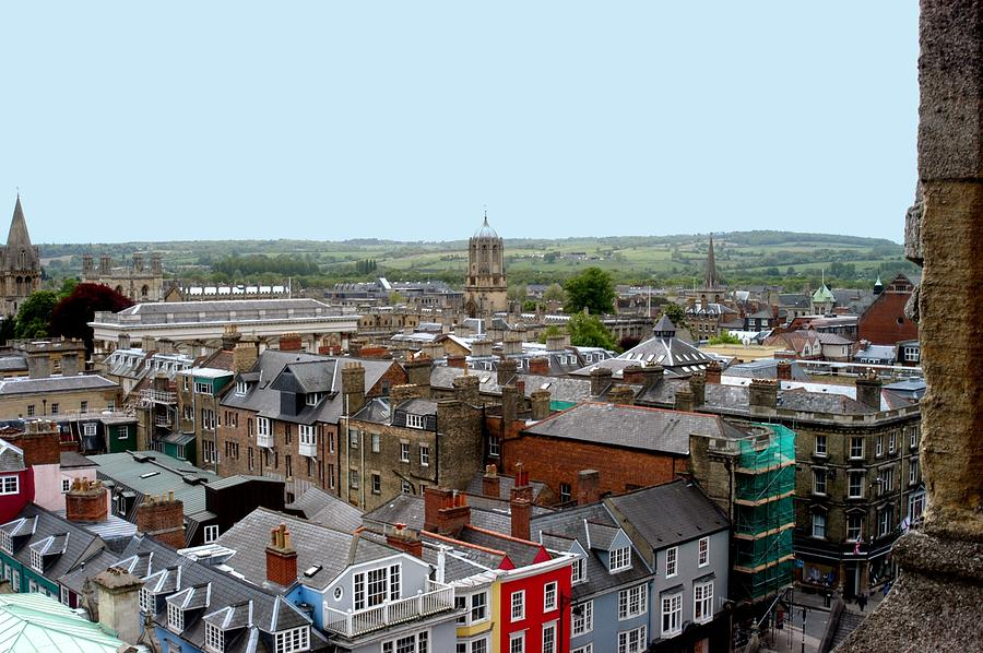 Overview Photograph - Oxford Town by Joseph Yarbrough