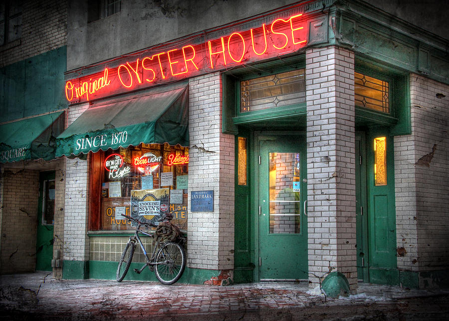 Original Oyster House Photograph - Oyster House by Lori Deiter
