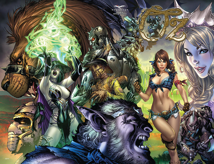 Grimm Fairy Tales Drawing - Oz 01k by Zenescope Entertainment
