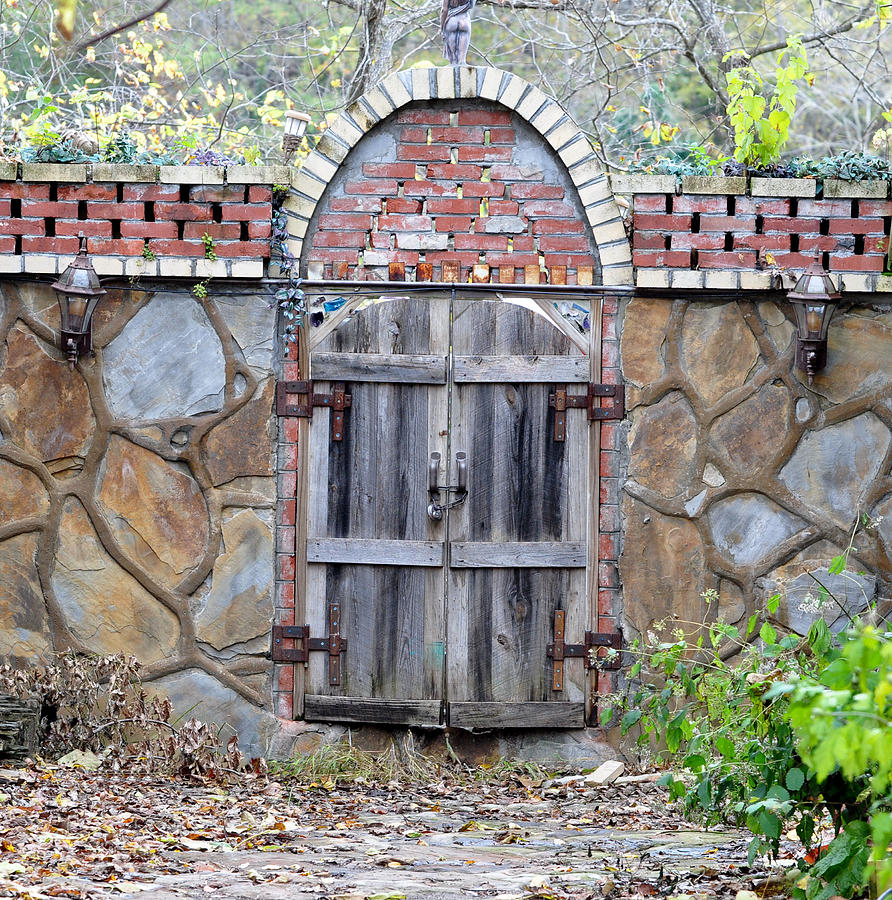 Architectural Photograph - Ozark Gate by Jan Amiss Photography