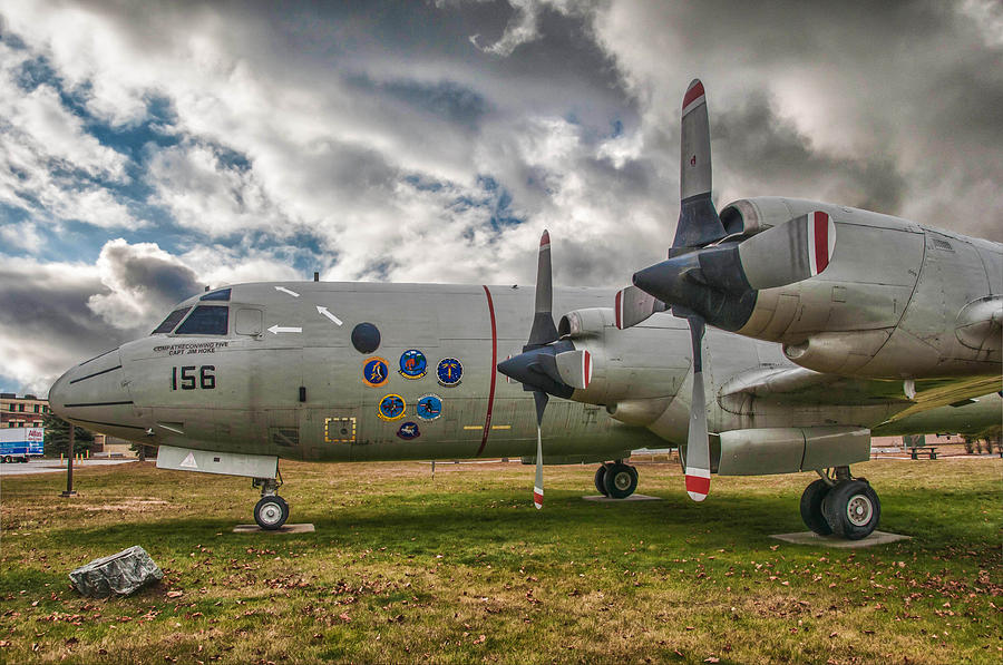 Asw Aircraft Photograph - P-3a by Guy Whiteley