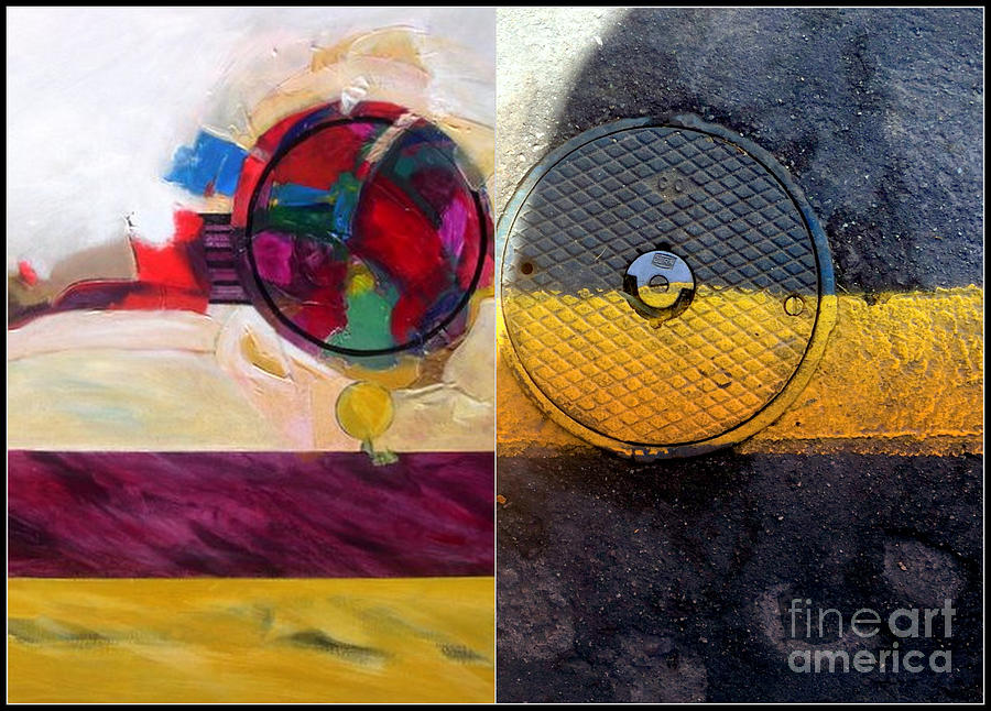 Abstract Photography Painting - p HOTography 112 by Marlene Burns