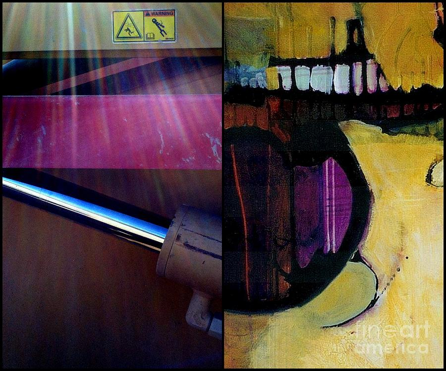 Abstract Photography Painting - p HOTography 135 by Marlene Burns