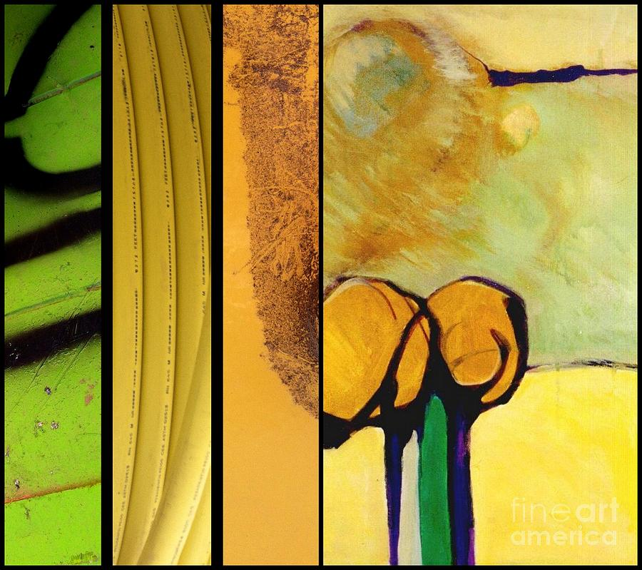Yellow Painting - p HOTography 143 by Marlene Burns
