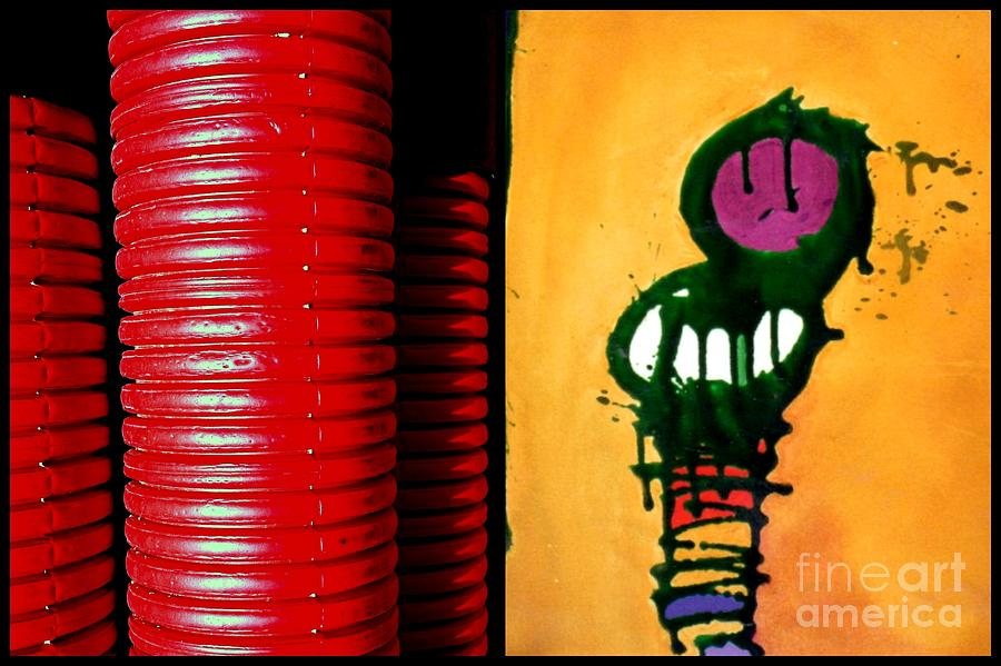 Diptych Painting - p HOTography 145 by Marlene Burns