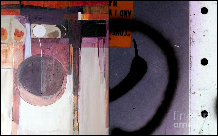 Abstract Photography Painting - p HOTography 150 by Marlene Burns