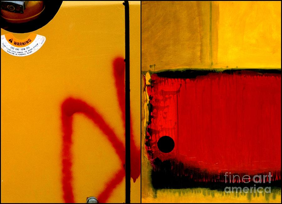 Abstract Photography Painting - p HOTography 154 by Marlene Burns