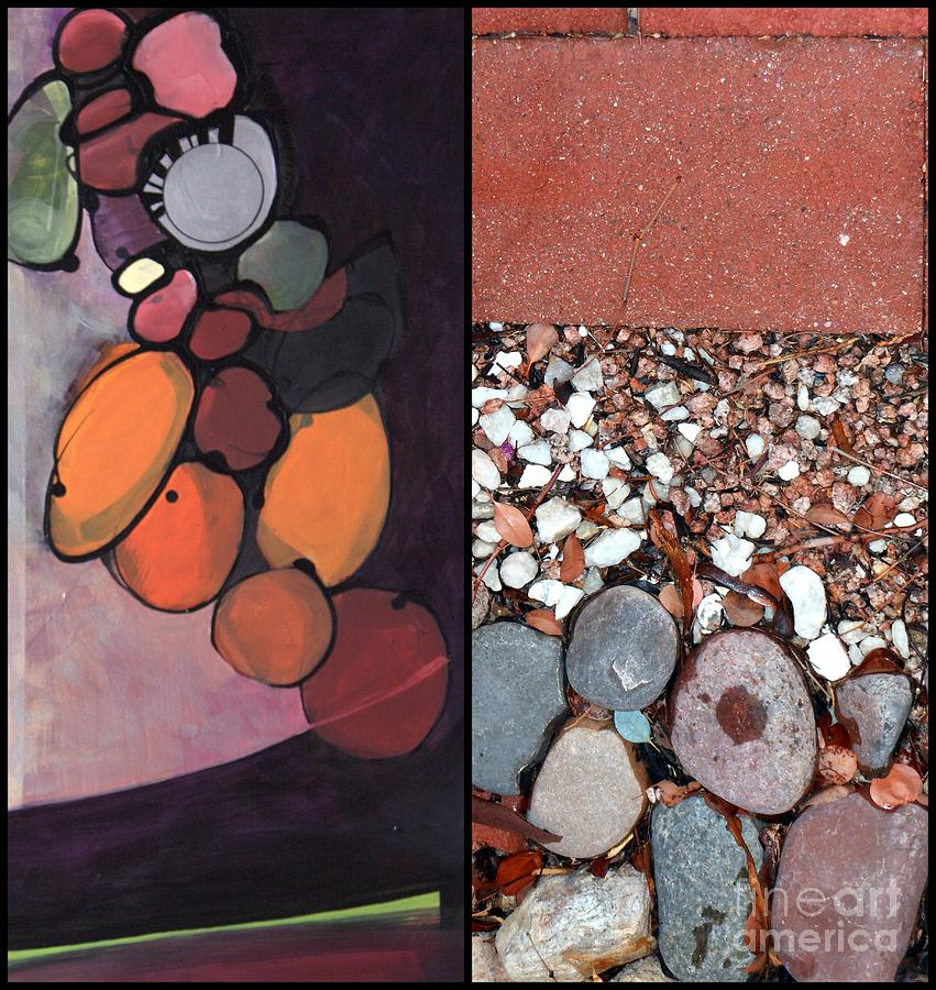 Stones Painting - p HOTography 155 by Marlene Burns