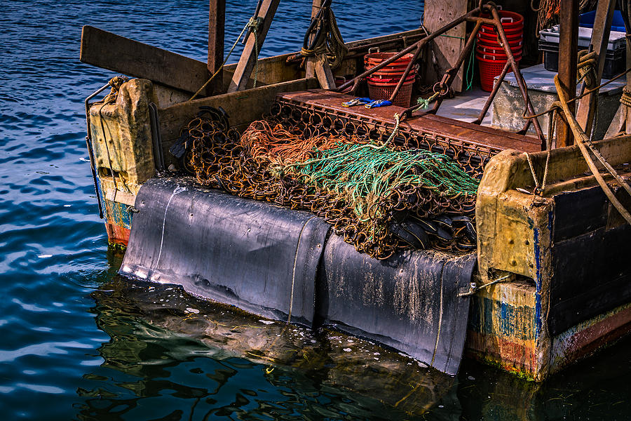 Cape Cod Photograph - P-towns Fishing Troller  by Susan Candelario