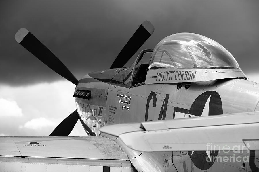 P51 Photograph - P51 D by Remy NININ