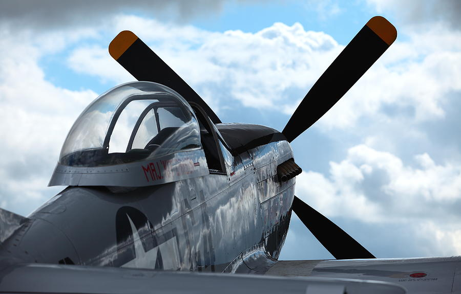 P51 Photograph - P51 by Remy NININ