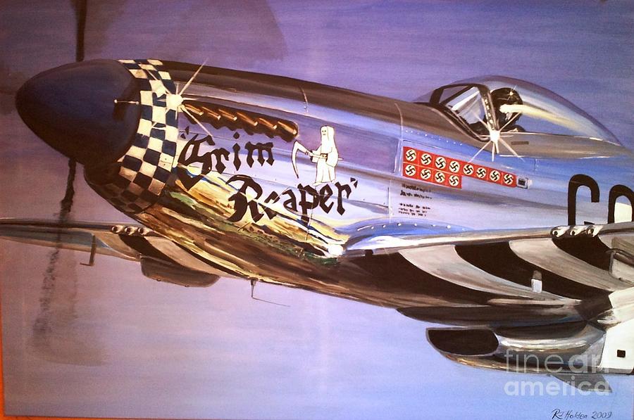 P51d Mustang Grim Reaper Warbird