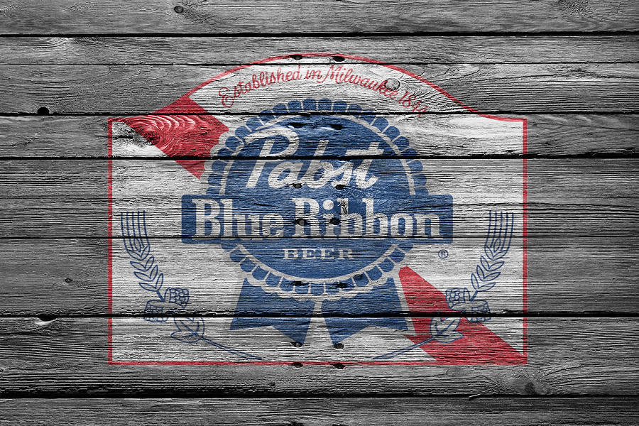 Pabst Photograph - Pabst Blue Ribbon Beer by Joe Hamilton