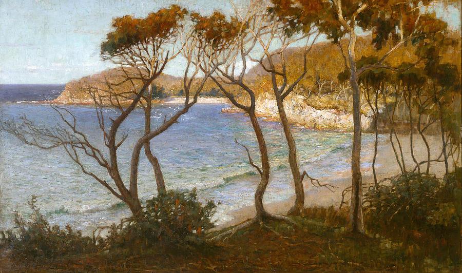 Pacific Beaches Painting - Pacific Beaches by Albert Hanson