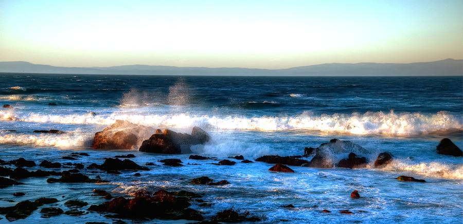 Pacific Grove Surf 19894 Photograph