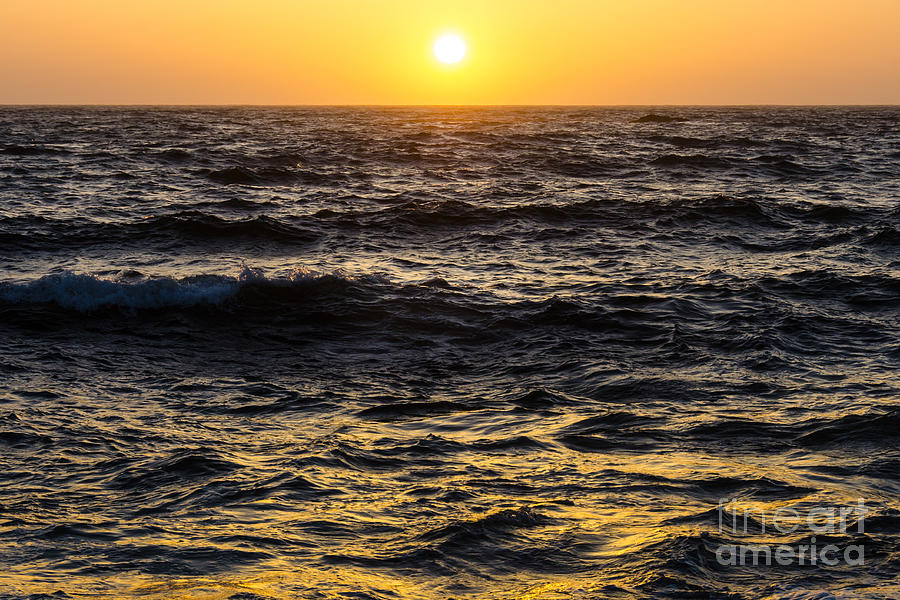 Sunset Photograph - Pacific Reflection by CML Brown