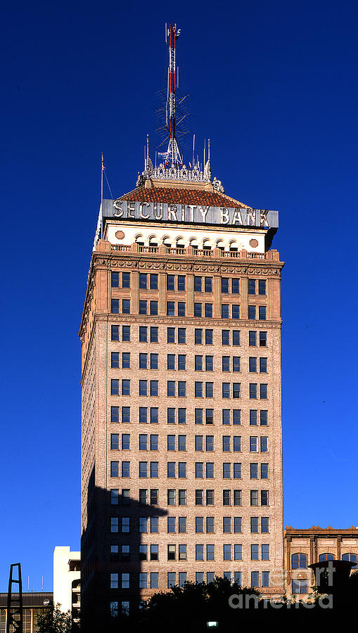 Pacific Southwest Building Fresno California Photograph By