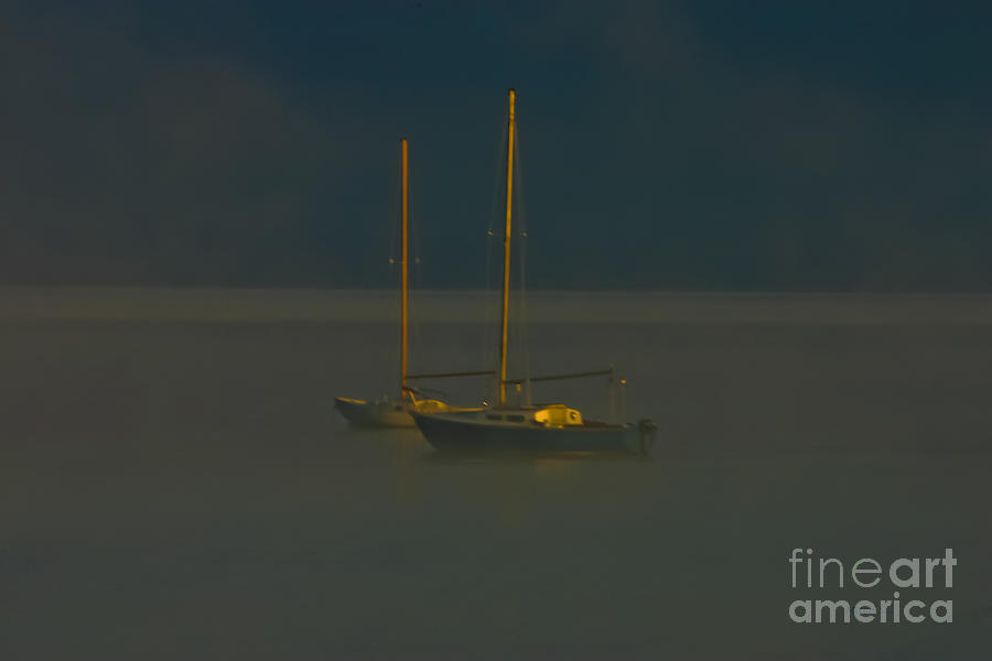 Sailboat Photograph - Pacing The Cage by Mitch Shindelbower