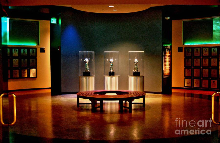 Lambeau Field Photograph - Packer Hall Of Fame by Tommy Anderson