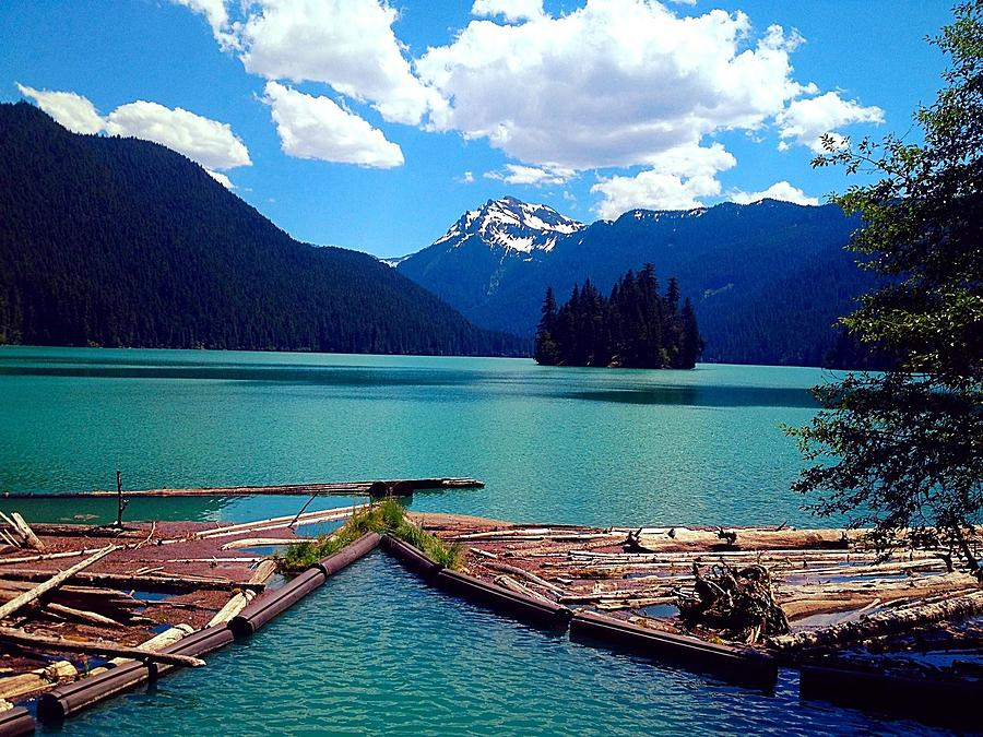 Lake Photograph - Packwood Lake by Whitney Nanamkin