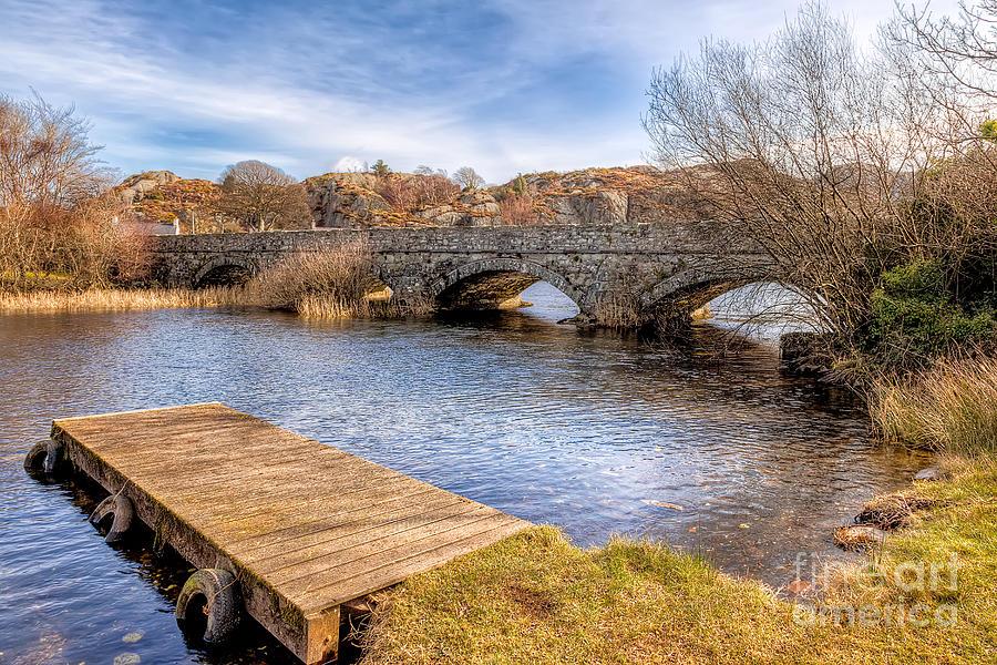 Arch Photograph - Padarn Bridge by Adrian Evans