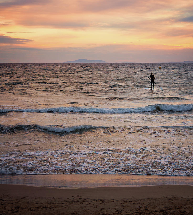 Paddle Boarding Photograph by Michelle Mcmahon