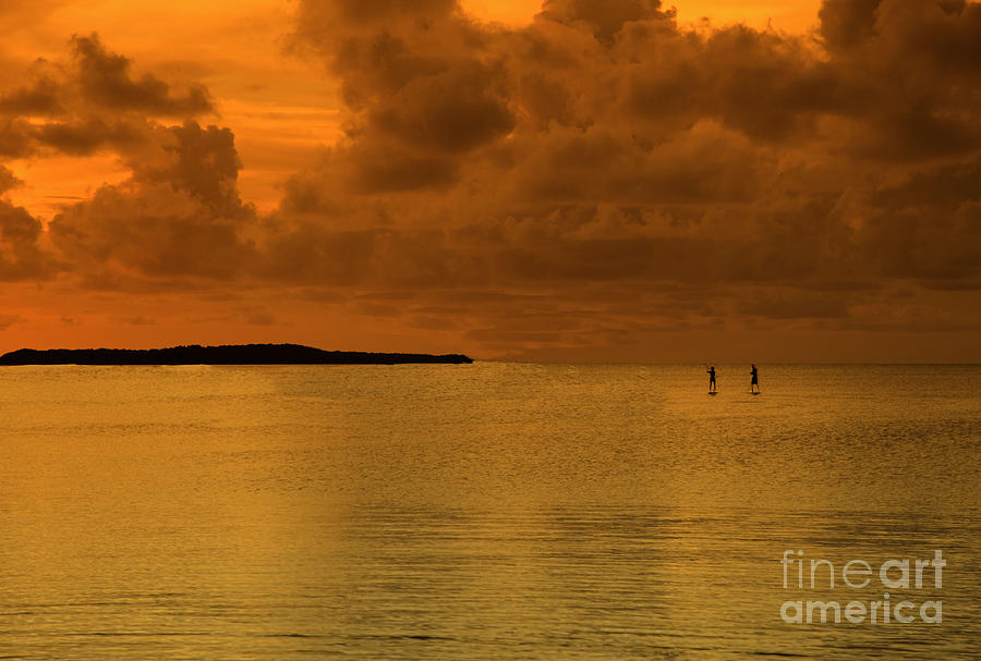 Florida Keys Photograph - Paddleboarding by Bruce Bain