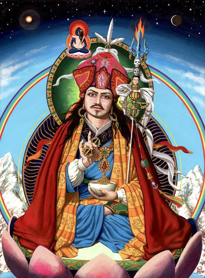 Guru Rinpoche Painting - Padmasambhava by Jonathan Weber