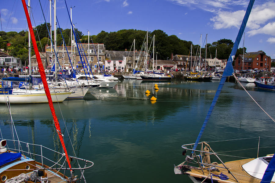 Padstow Photograph - Padstow Harbour by Debra Jayne