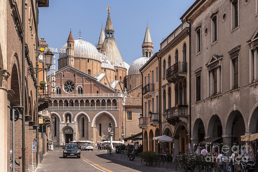 Ancient Photograph - Padua. Italy by Rostislav Bychkov