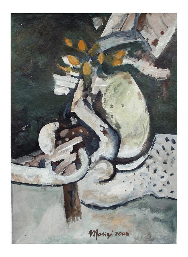 Paesaggio Painting - Paesaggio by Marco Morigi
