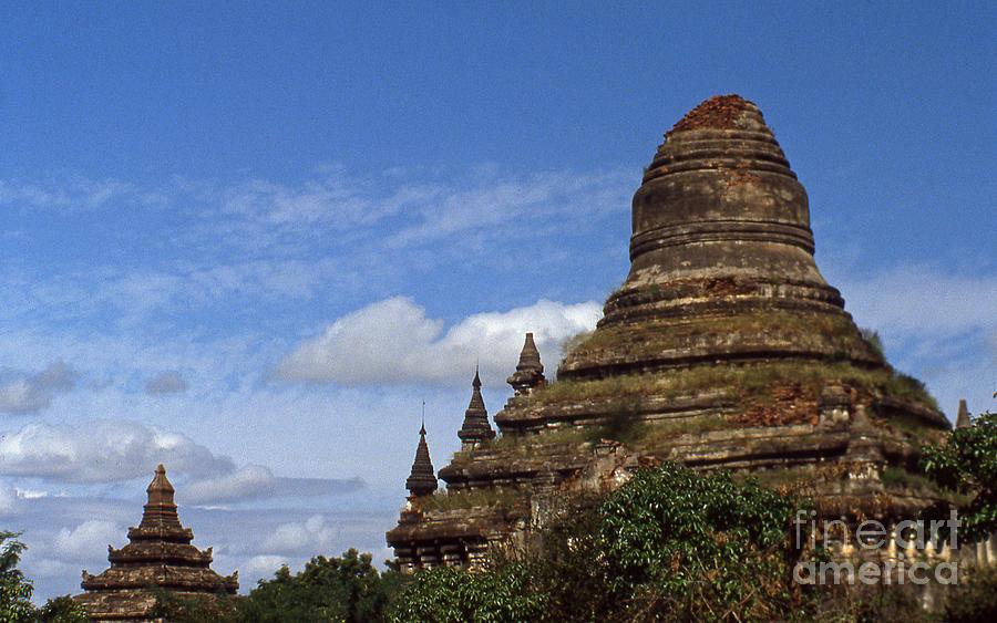 Pagan Photograph - Pagan Burma Stupa by Scott Shaw