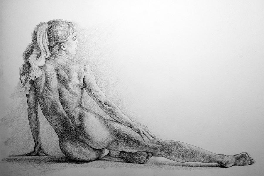 Pencil erotic sketchings join