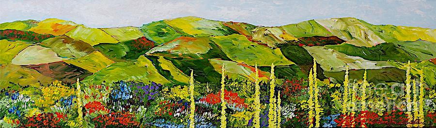 Landscape Painting - Pageantry by Allan P Friedlander