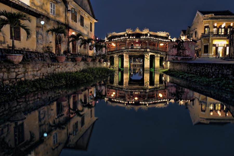 Bridge Photograph - Pagoda Bridge by Kim Andelkovic
