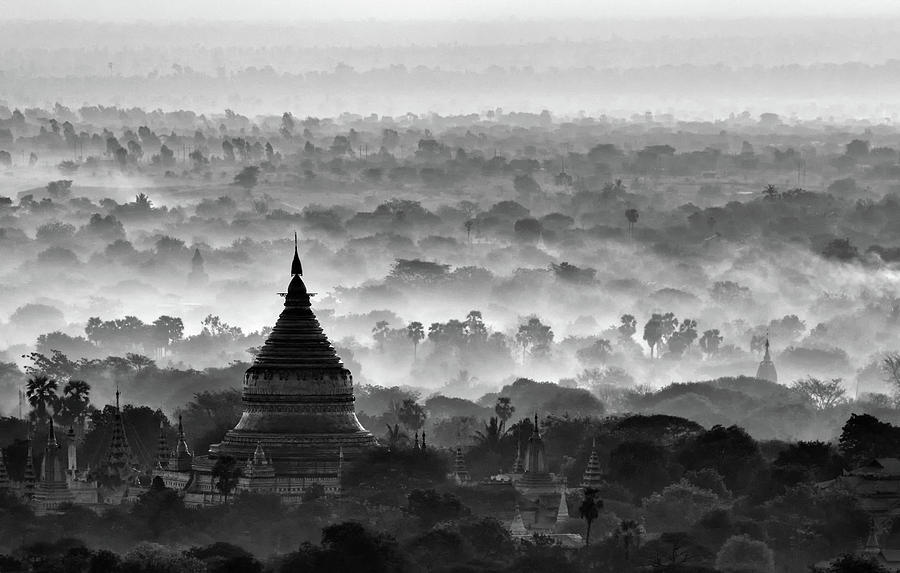 Pagoda Photograph - Pagoda by Hans-wolfgang Hawerkamp