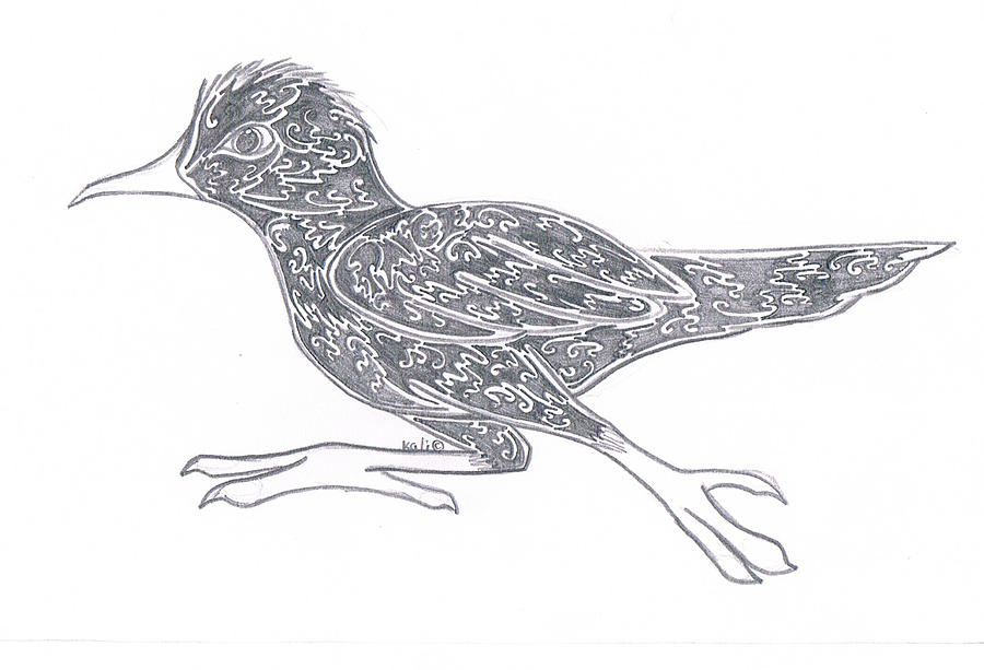 Pencil Drawing - paige  by Kali Kardsbykali